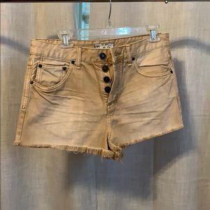 Free people shorts - NWT